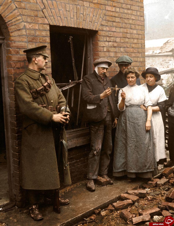 تصاویر رنگی کمتر دیده شده از جنگ جهانی اول