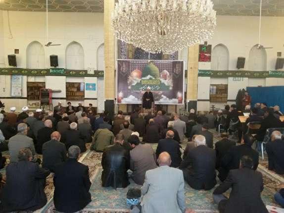 باشگاه خبرنگاران - قرائت زیارت ازبعید رسول گرامی اسلام در ارومیه