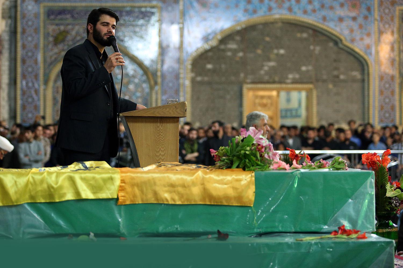 مراسم عزاداری در مشهد مقدس با مداحی میثم مطیعی +فیلم