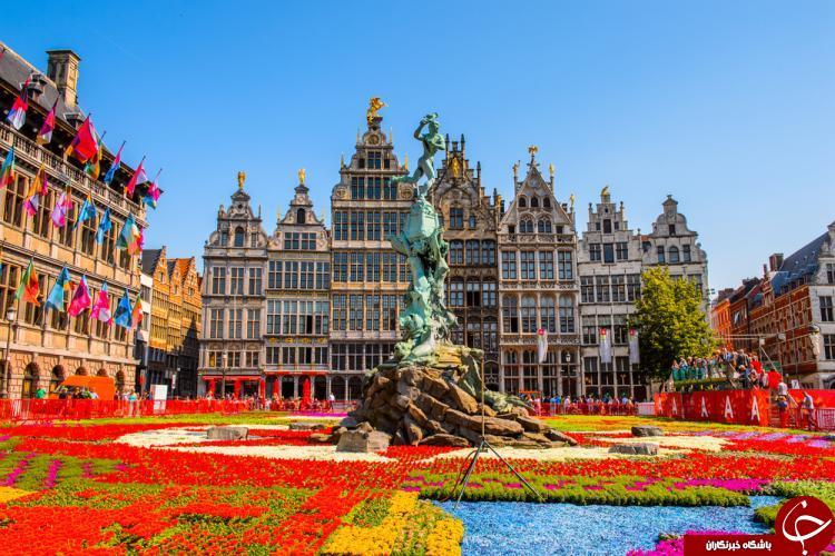 خوب ترین زمان سفر به بلژیک چه ماهی هست؟ + معرفی جاذبههای گردشگری بلژیک