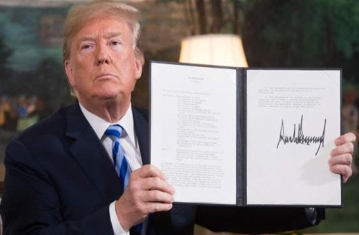 تحریمهای ترامپ علیه ایران برجی است که ممکن است هر لحظه فرو بریزد