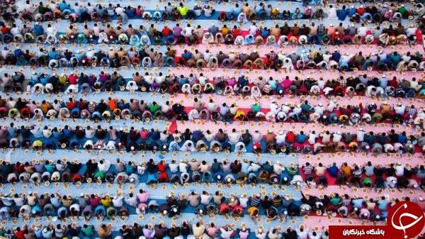 عکس روز نشنال جئوگرافیک از مراسم افطار در دبی
