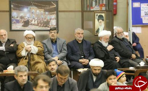 برگزاری مراسم عزاداری سالروز شهادت امام رضا (ع) در یزد+ تصویر