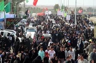 بزرگترین پیاده روی جنوب کشور در شهر برازجان برگزار شد