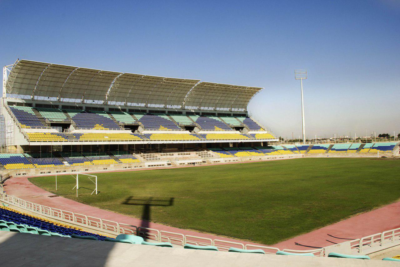 لوزانوف، ورزشگاه شهید کاظمی را هم بررسی کرد
