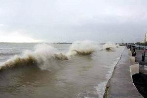 خلیج فارس مواج می شود/احتمال آبگرفتگی معابر عمومی در سواحل خوزستان و بوشهر