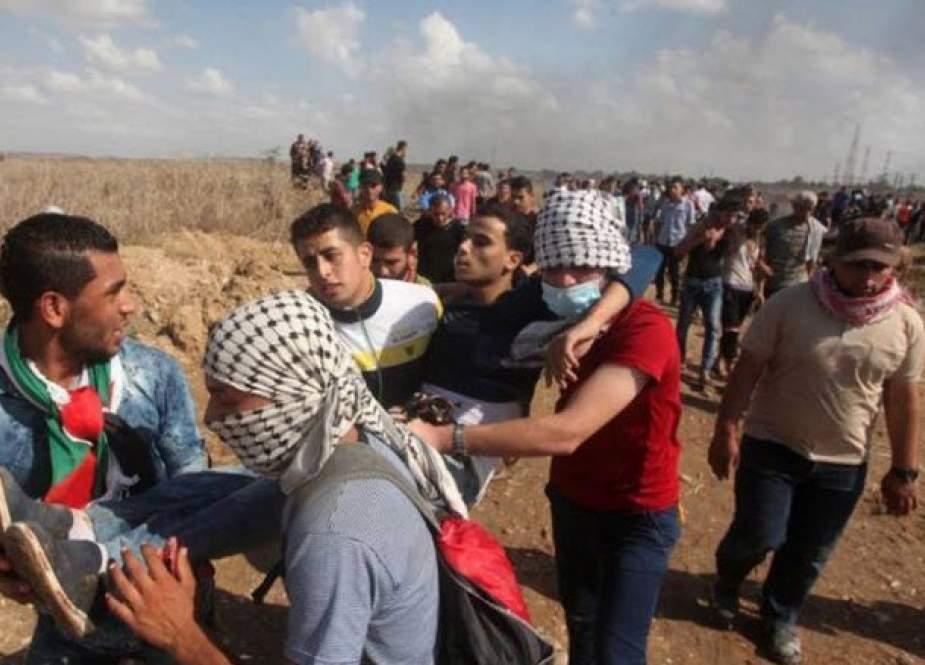شهادت یک فلسطینی در تیراندازی نظامیان صهیونیست