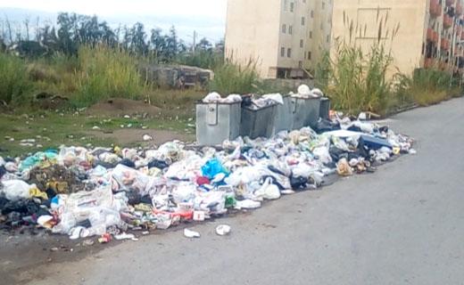 دپوی زباله در مجاورت منازل مسکونی سرخرود + فیلم