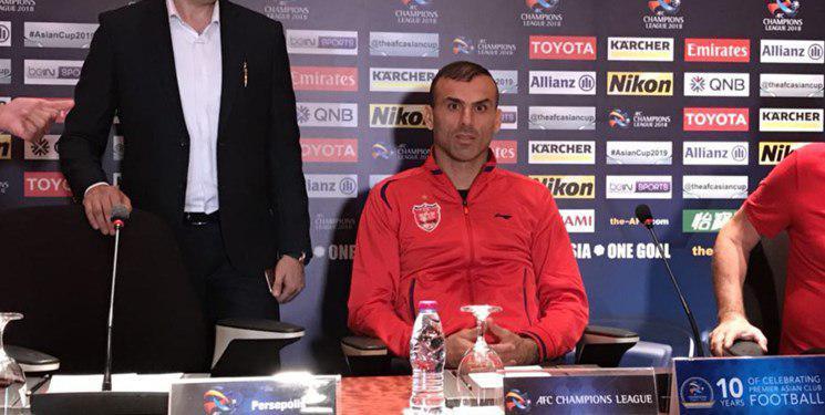 حسینی: بازی پرقدرتی در کنار هواداران خود ارائه می دهیم/ تمرکز مهمترین مسئله بازی فینال است