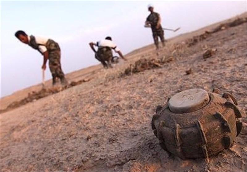 عملیات پاکسازی استان الانبار از مینهای باقی مانده
