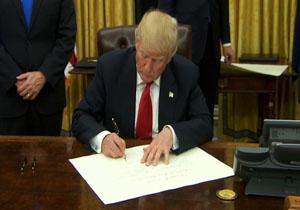 ترامپ: هر مهاجری که از مرز مکزیک عبور کند حق درخواست پناهندگی ندارد