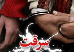 دستگیری یکی از سارقان حرفه ای قطعات خودرو