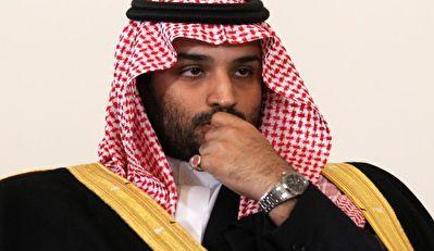 خروج غضبناک بن سلمان از محل دیدار با احمد بن عبدالعزیز + فیلم