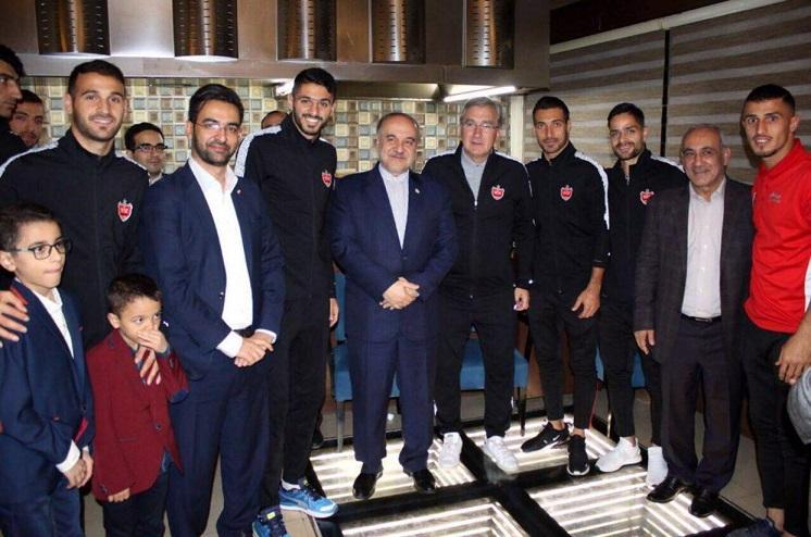 دو وزیر در اردوی سرخ پوشان + عکس