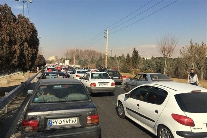 پیشبینی ترافیک سنگین در محورهای منتهی به ورزشگاه آزادی