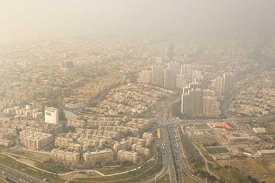 هوای تهران در اولین روز هفته ناسالم است