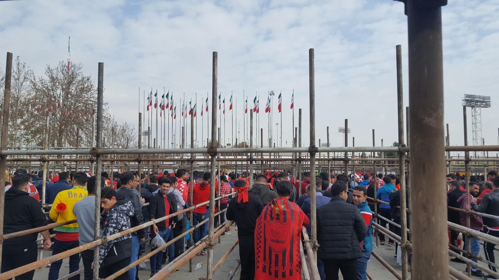 حواشی پیش از دیدار تیمهای فوتبال پرسپولیس ایران - کاشیما ژاپن