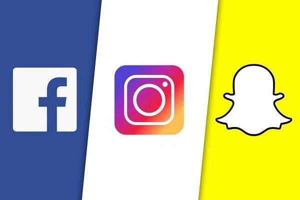 فیسبوک، اینستاگرام و اسنپچت عامل اصلی افسردگی هستند