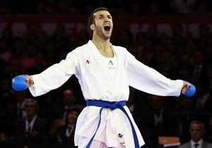 امیر مهدیزاده در کسب چهارمین مدال جهانی باز ماند