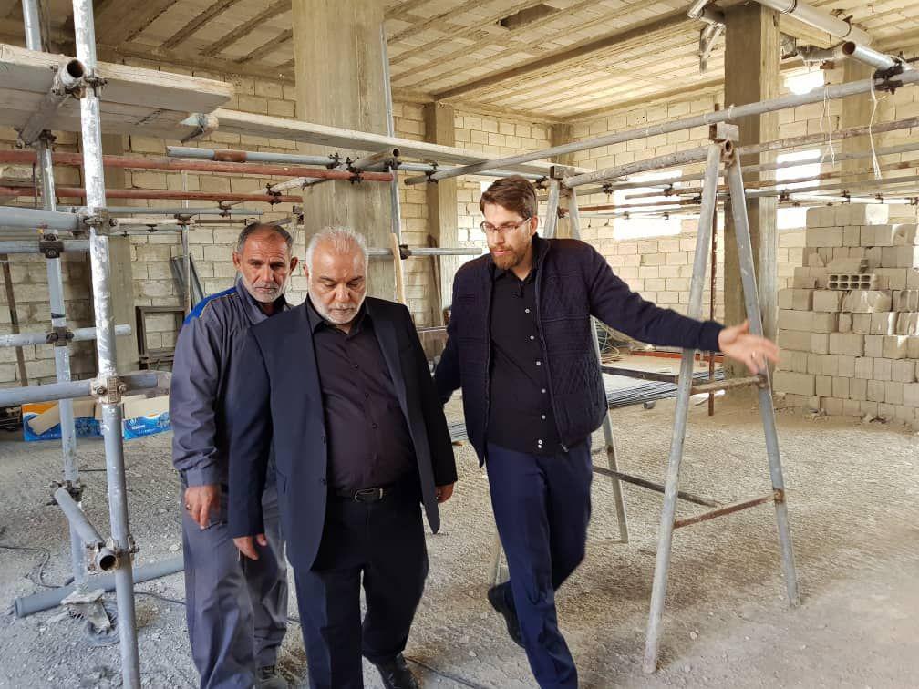 عملیات ساخت مضیف حرم حضرت زینب(س) در دستور کار ستاد بازسازی عتبات + عکس
