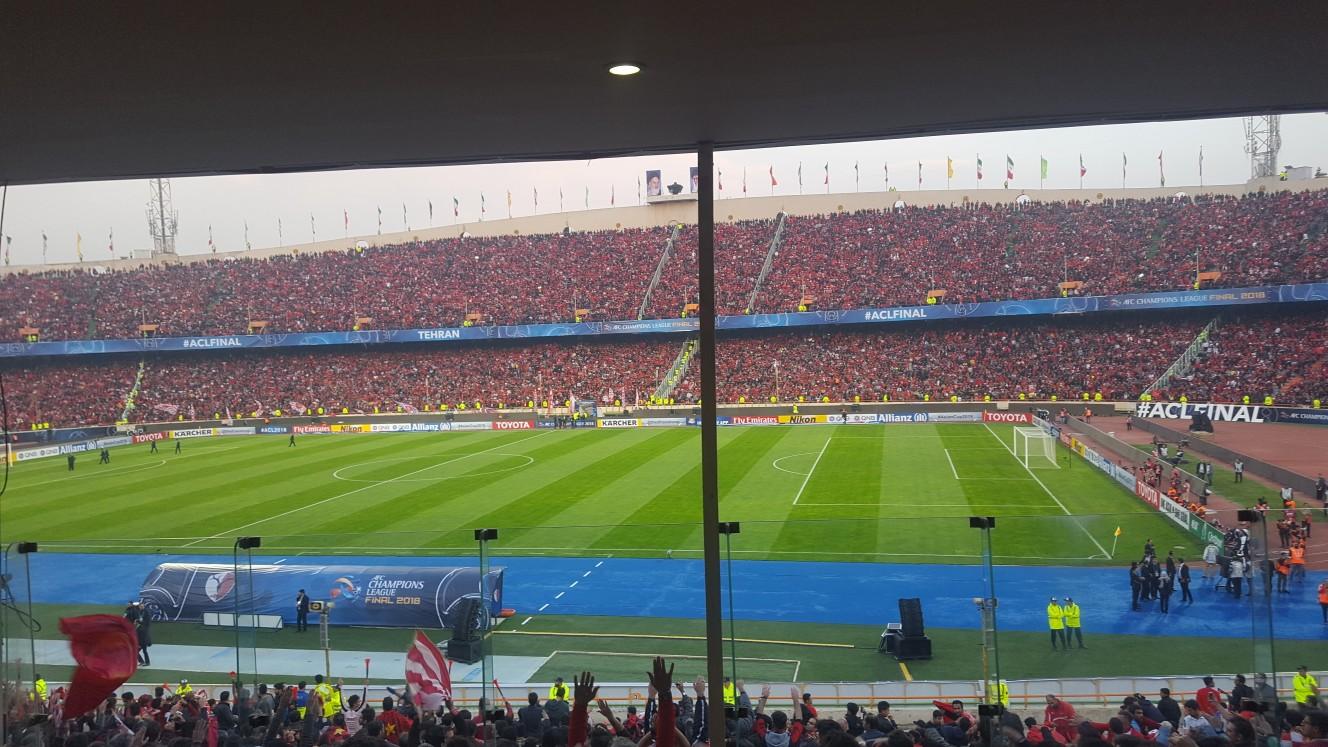 حواشی پیش از دیدار تیمهای فوتبال پرسپولیس ایران - کاشیما ژاپن + تصاویر
