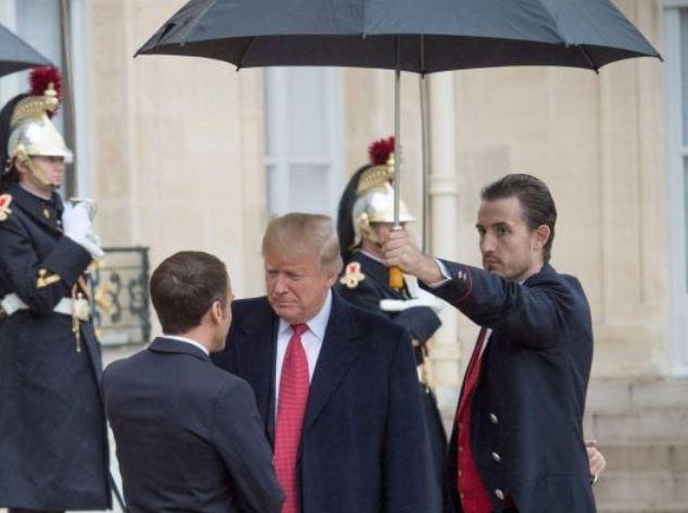 بهانه ترامپ برای استراحت عصرگاهی در پایتخت فرانسه