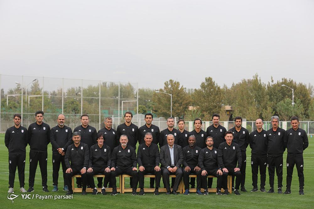 مربیان تیم ملی فوتبال تماشاگر دیدار پرسپولیس و کاشیما/ کی روش فردا به تهران می آید
