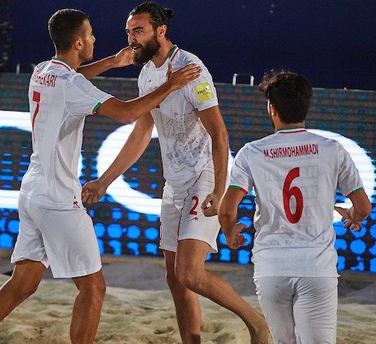 تیم ملی فوتبال ساحلی ایران 4 - روسیه یک/ پایان نیمه دوم