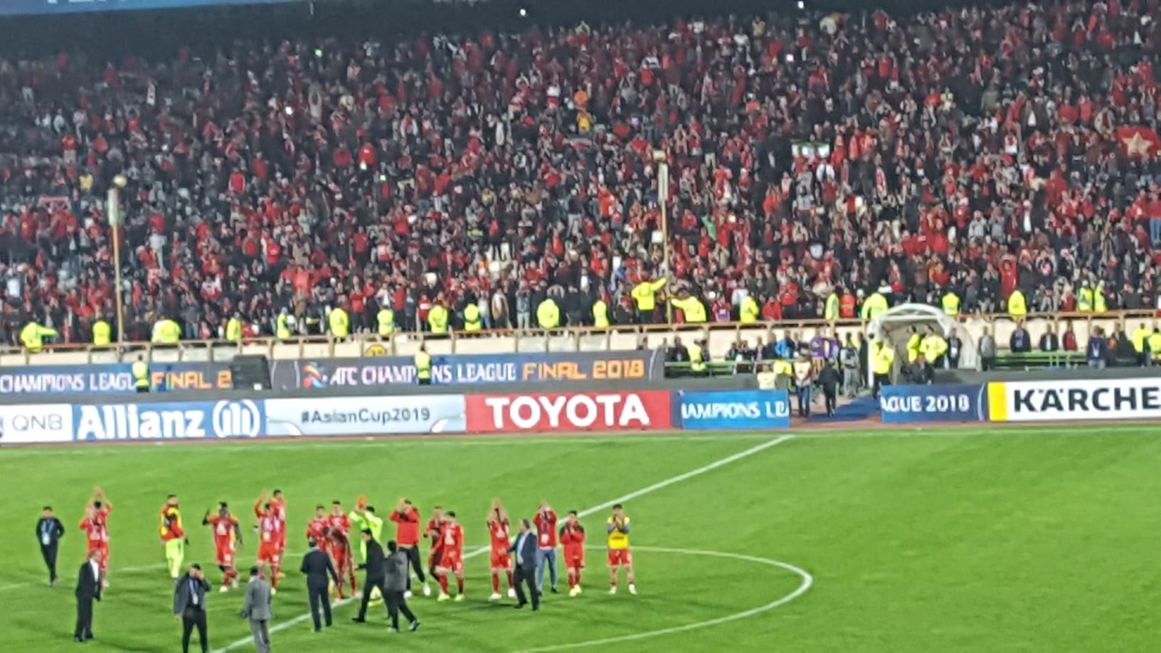 پرسپولیس ایران صفر - کاشیما ژاپن صفر/ سرخهای با تعصب با شایستگی نایب قهرمان آسیا شدند