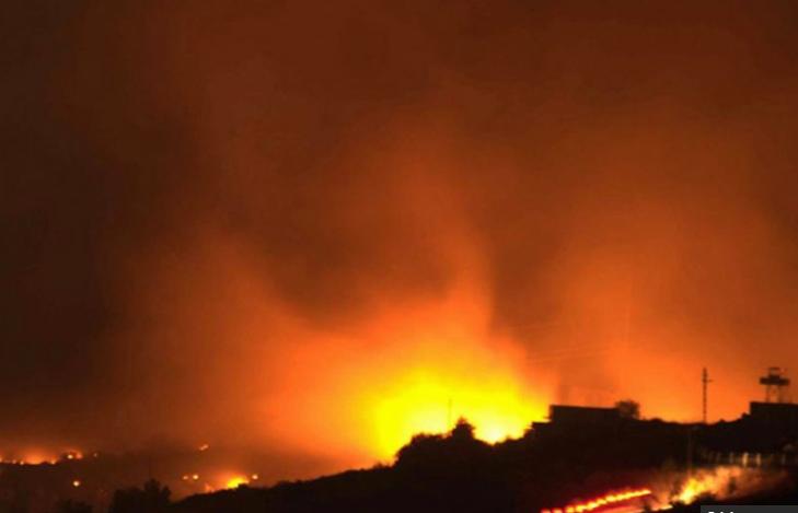 در انفجار انبار مهمات در حکاری ترکیه ۷ نفر کشته شدند