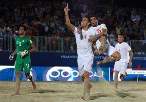 خلاصه فینال فوتبال ساحلی ایران و روسیه در 19 آبان 97 +فیلم