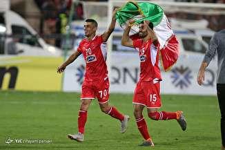 دیدار تیم های فوتبال پرسپولیس و السد