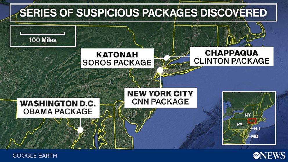 آمریکا در شوک/ بستههای انفجاری تاکنون برای چه کسانی ارسال شده است؟