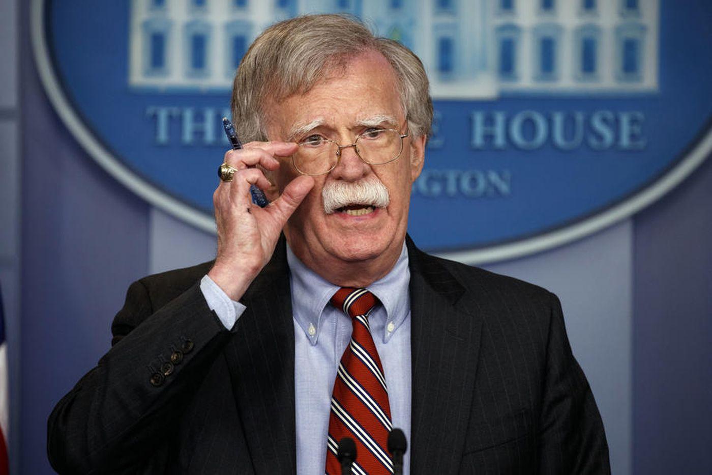 بولتون: گزینه نظامی جایی در برنامهریزیهای آمریکا علیه ایران ندارد