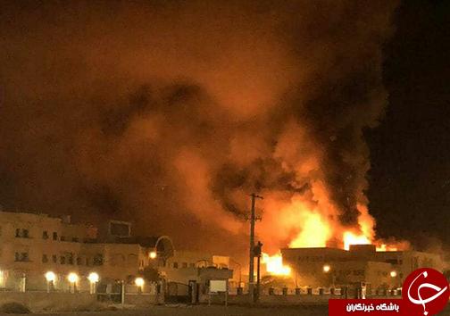 آتش سوزی ساختمان دانشگاه پیامنور اوز لارستان/اتصالی برق دلیل اولیه حادثه اعلام شد