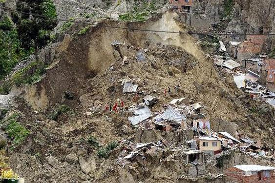 ۹ نفر بر اثر رانش زمین در برزیل کشته شدند