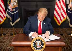 علاقه ترامپ به تحریم در نهایت هچون پُتک بر سر اقتصاد آمریکا کوبیده خواهد شد