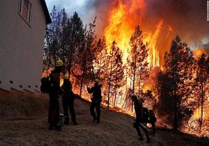 انتقاد آتش نشانها از اظهارات توهین آمیز ترامپ درباره آتش سوزی کالیفرنیا
