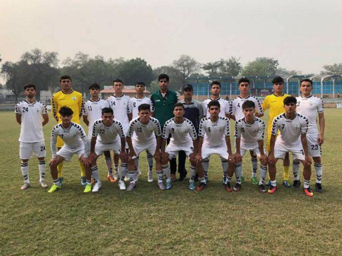 پیروزی تیم فوتبال افغانستان در برابر هند