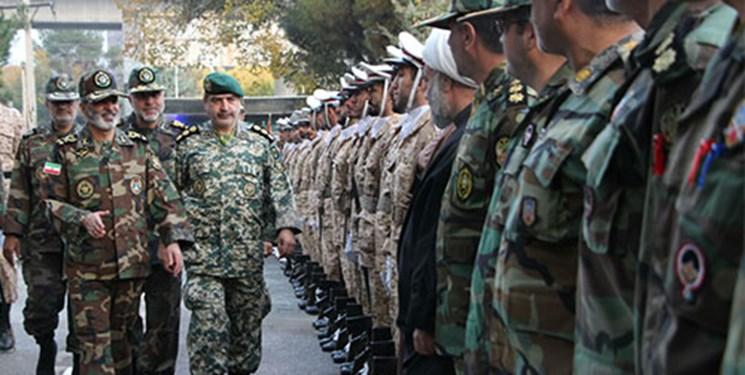 سرلشکر موسوی از یگان های مستقر در کرمانشاه بازدید کرد