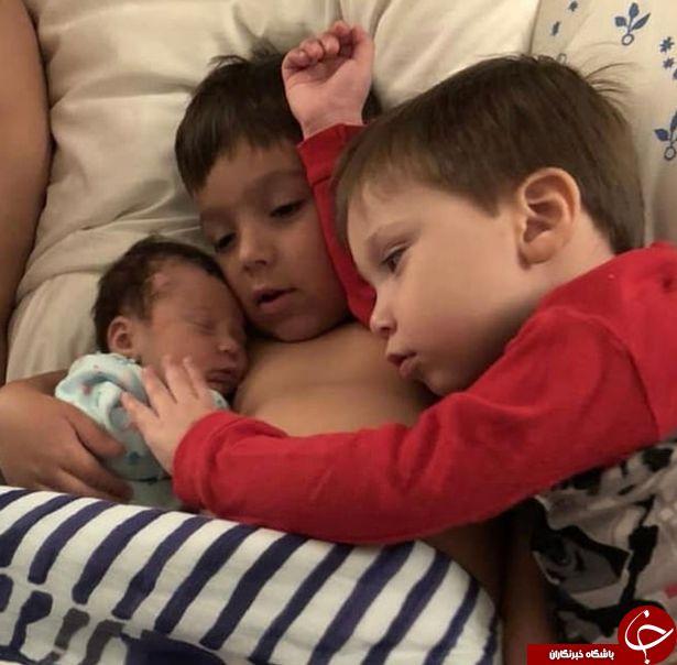 هشدار:دختر نوزاد به خاطر یک بوسه مُرد+تصاویر