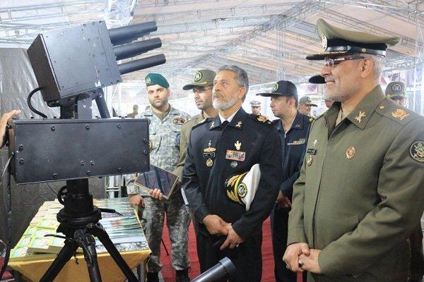 نمایشگاه تهدیدات نوپدید دفاعی- نظامی افتتاح شد