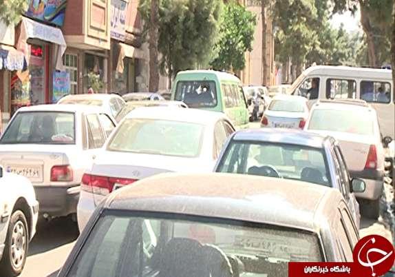 باشگاه خبرنگاران -ترافیک در کوی تختی گرگان معضلی مهم برای ساکنان و عابران