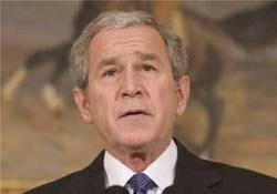 مدال آزادی بر گردن بوش آویخته شد!+ تصاویر