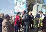 باشگاه خبرنگاران -استقبال پر شور مردم شهرستان مهریز از دروازبان تیم ملی ساحلی ایران +تصویر