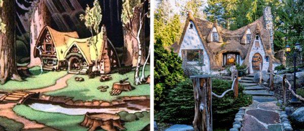 خانه های کپی برداری شده از کارتون ها+تصاویر