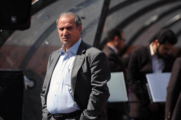 تاج:از سازمان لیگ خواستم تا با باشگاه پرسپولیس همکاری کند