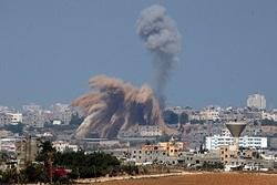 حمله هوایی رژیم صهیونیستی به نوار غزه و پاسخ نیروهای مقاومت با بیش از ۴۰۰ موشک + فیلم و تصاویر