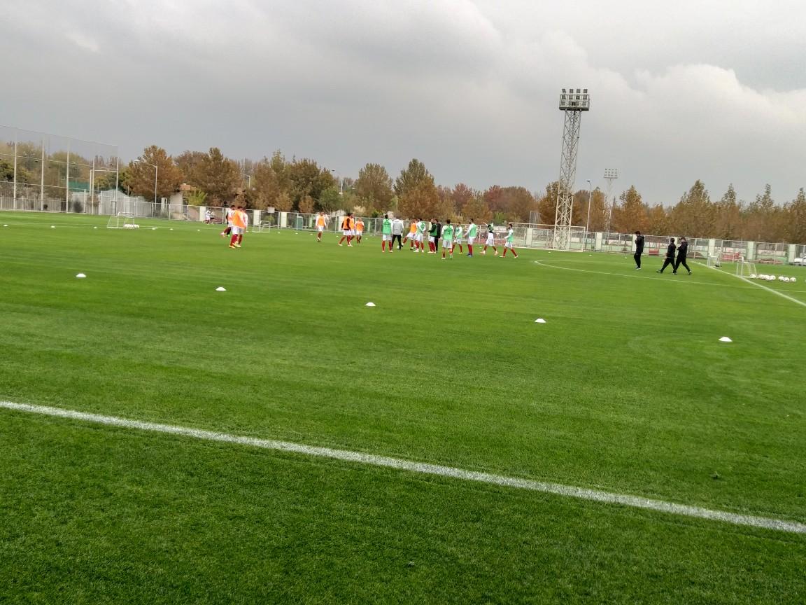 گزارش تمرین شاگردان کی روش در مرکز ملی فوتبال