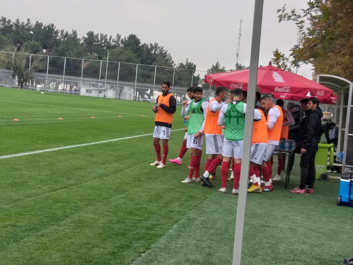 گزارش تمرین شاگردان کی روش/ ۲ بازیکن به اردوی تیم ملی اضافه شدند